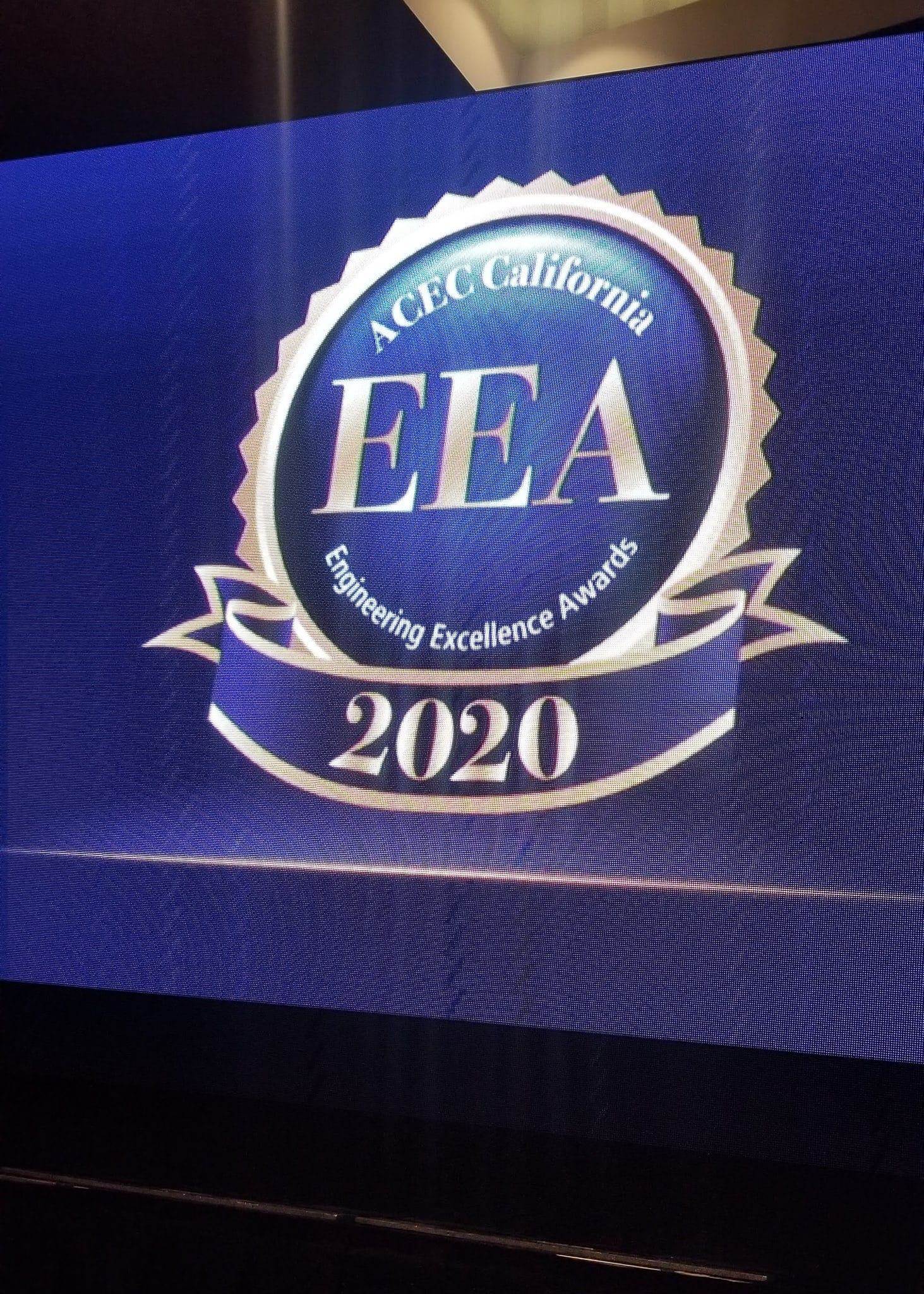 2020 ACEC Engineering Excellence Awards ceremony