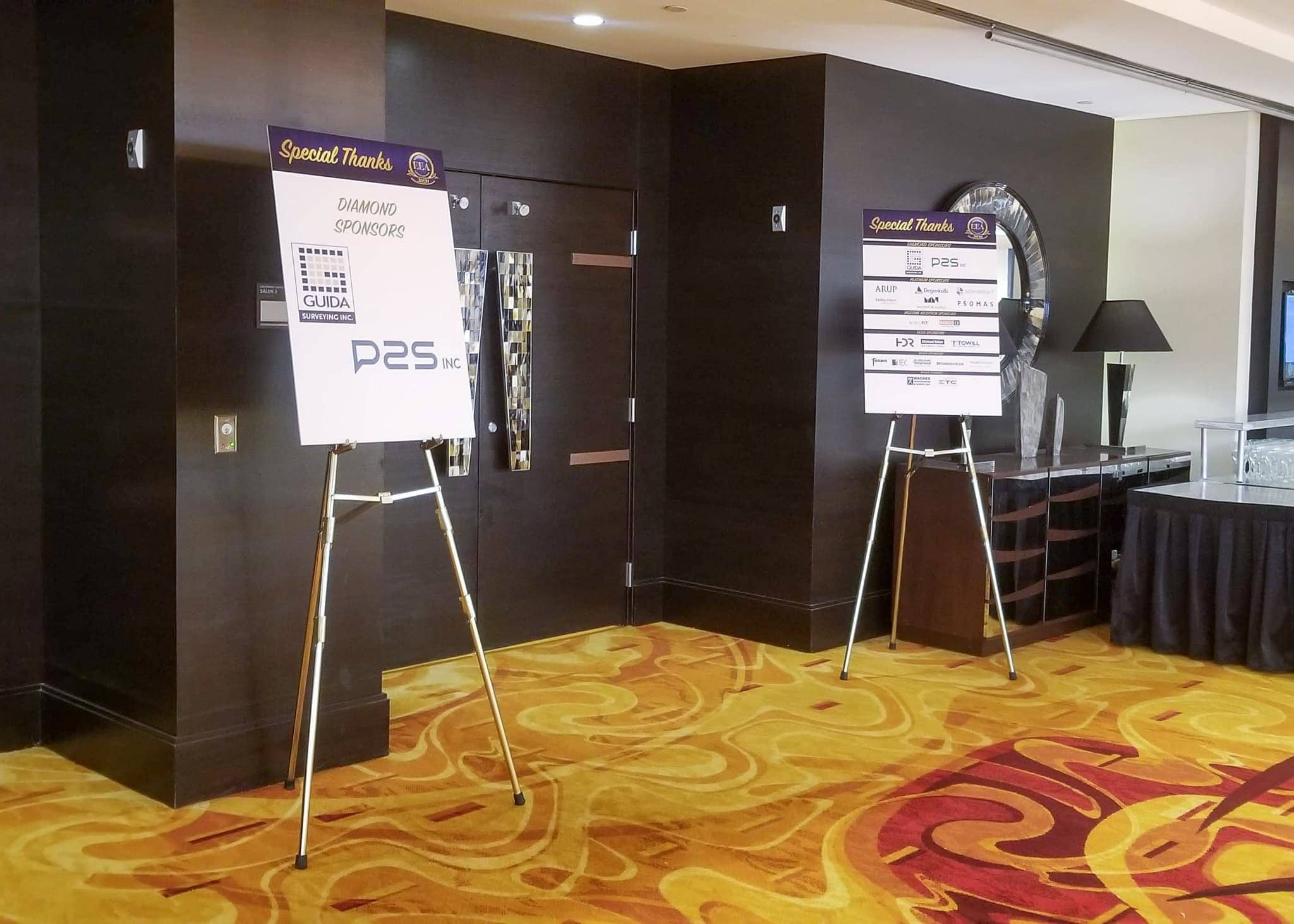 2020 ACEC Engineering Excellence Awards sponsorship boards